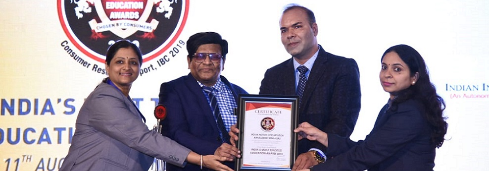 India's Most Trusted Education Award-2019